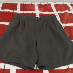 Croft & Barrow Mens Khaki Flat Front Shorts